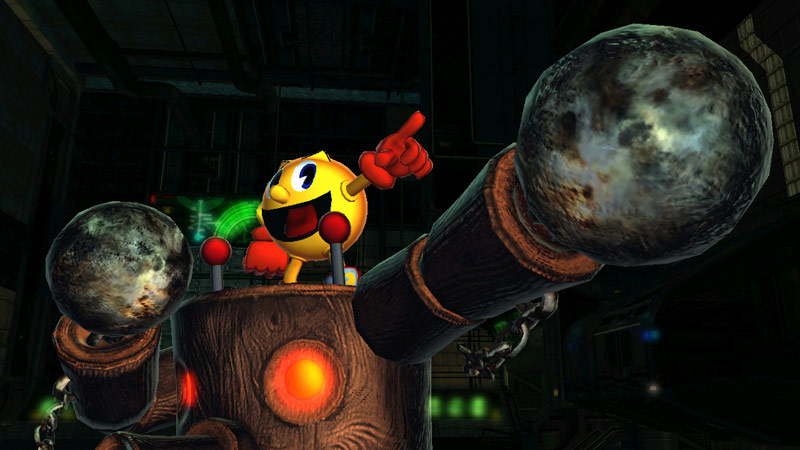 Mega Man and Pac-Man in Street Fighter X Tekken #5