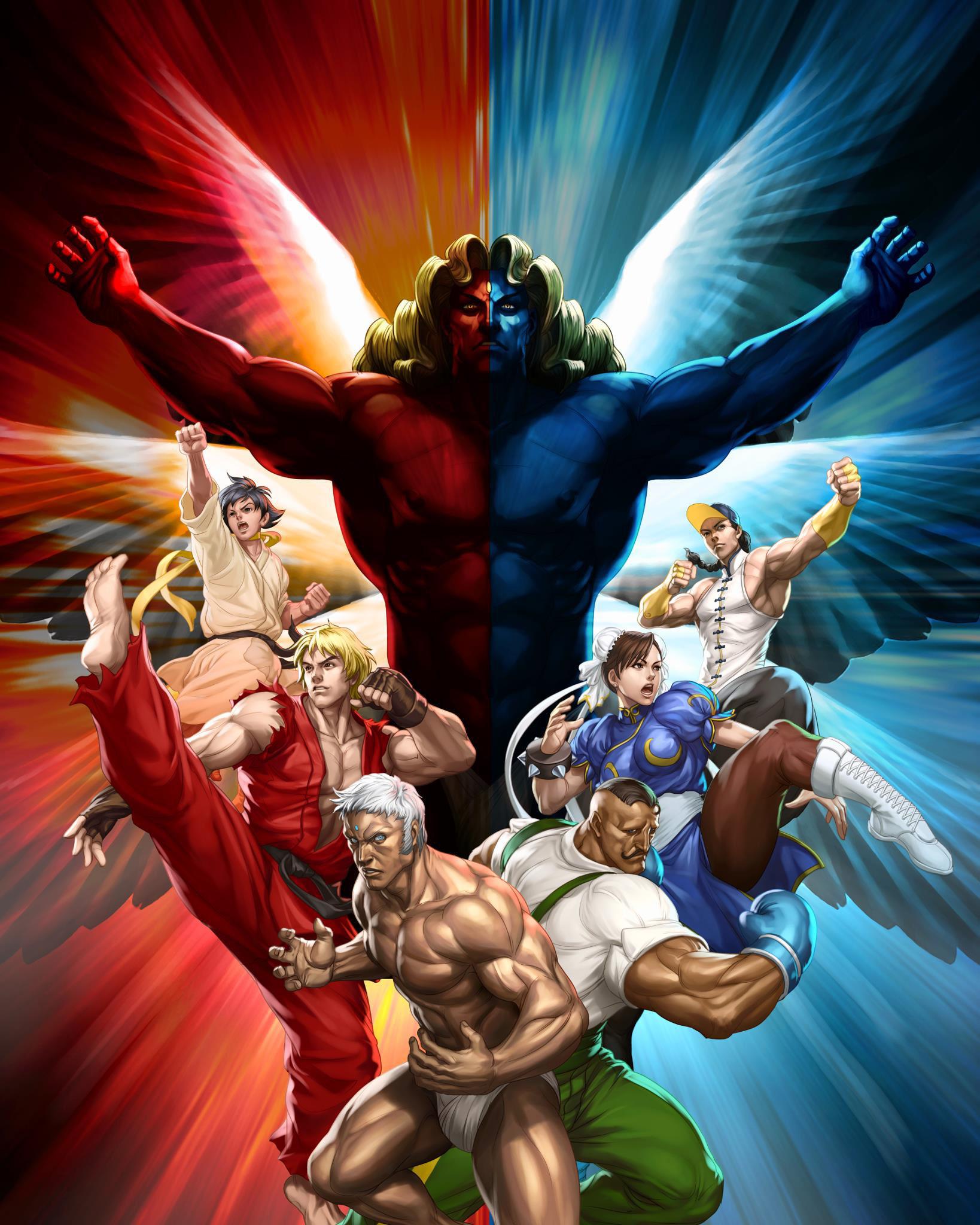 Street Fighter 3rd Strike By Stanley Artgerm Lau