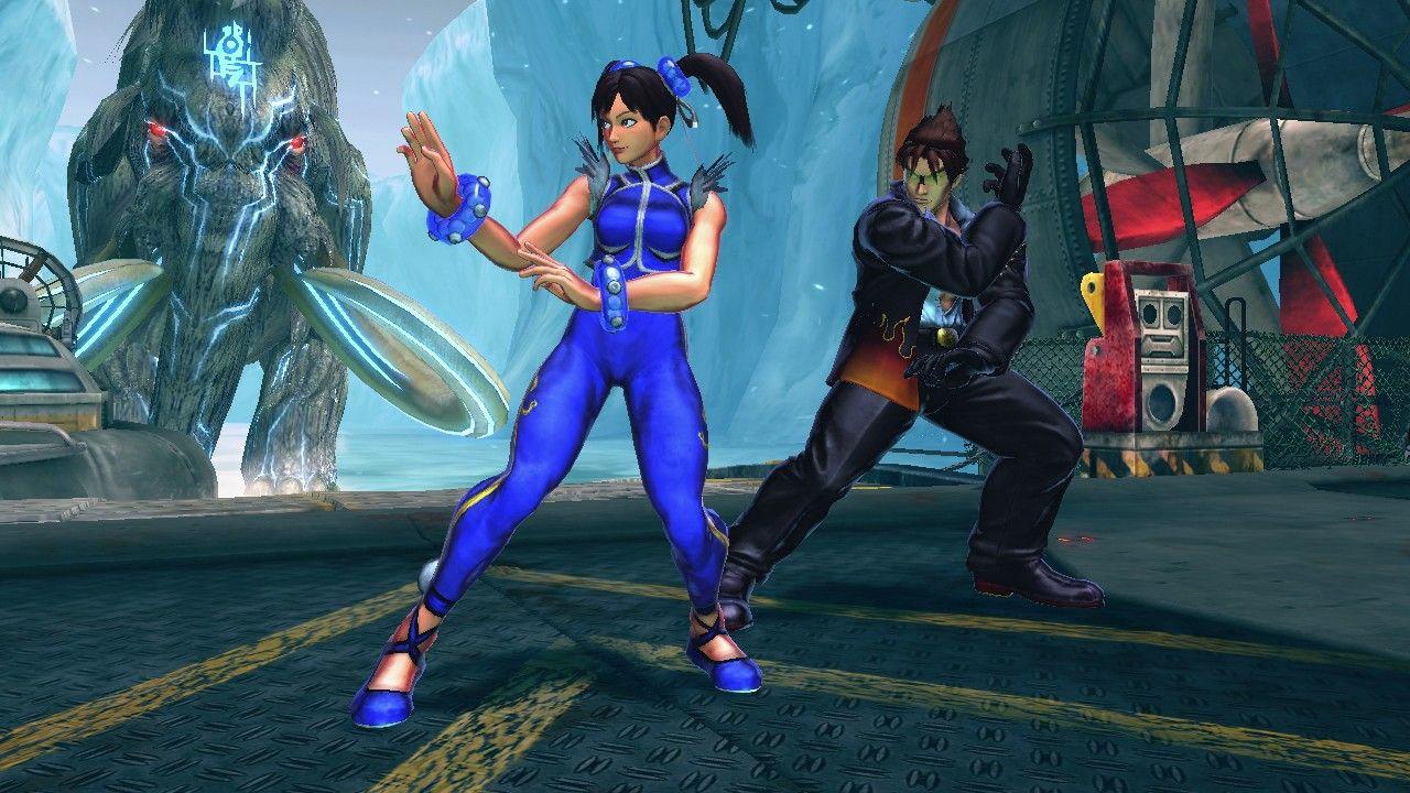 Street Fighter X Tekken updated alternate costumes #01
