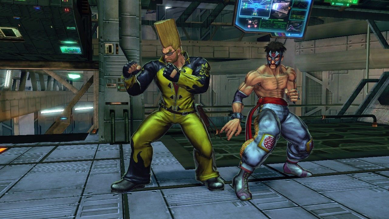 Street Fighter X Tekken updated alternate costumes #07