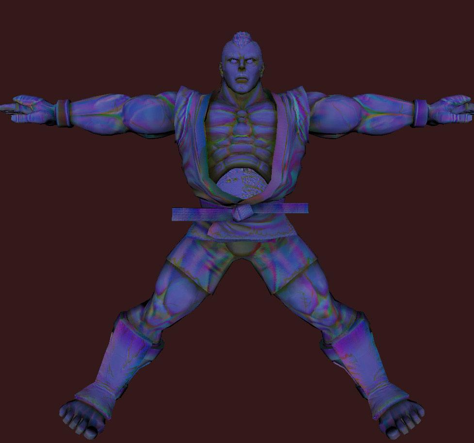 Models of Street Fighter X Tekken characters #02