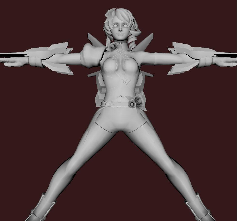 Models of Street Fighter X Tekken characters #03