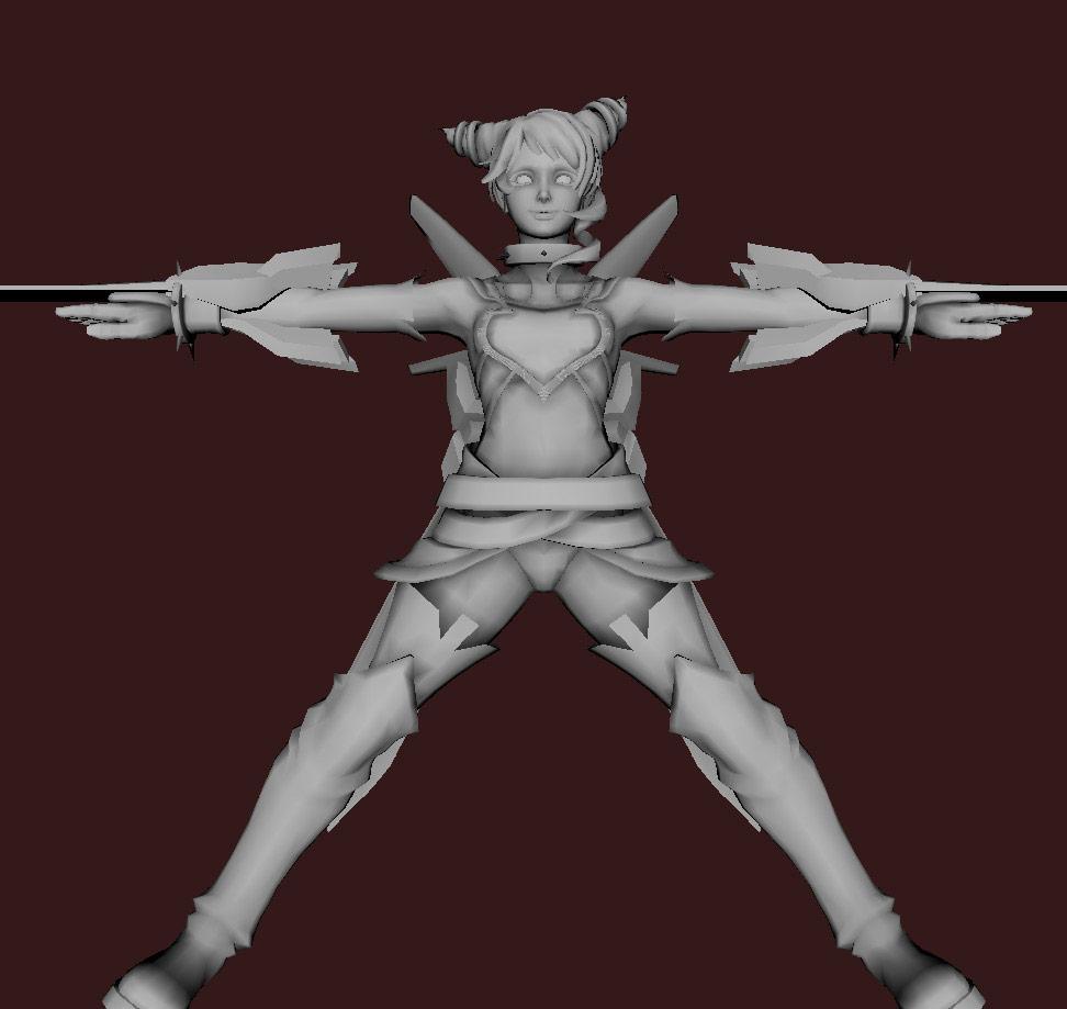 Models of Street Fighter X Tekken characters #05