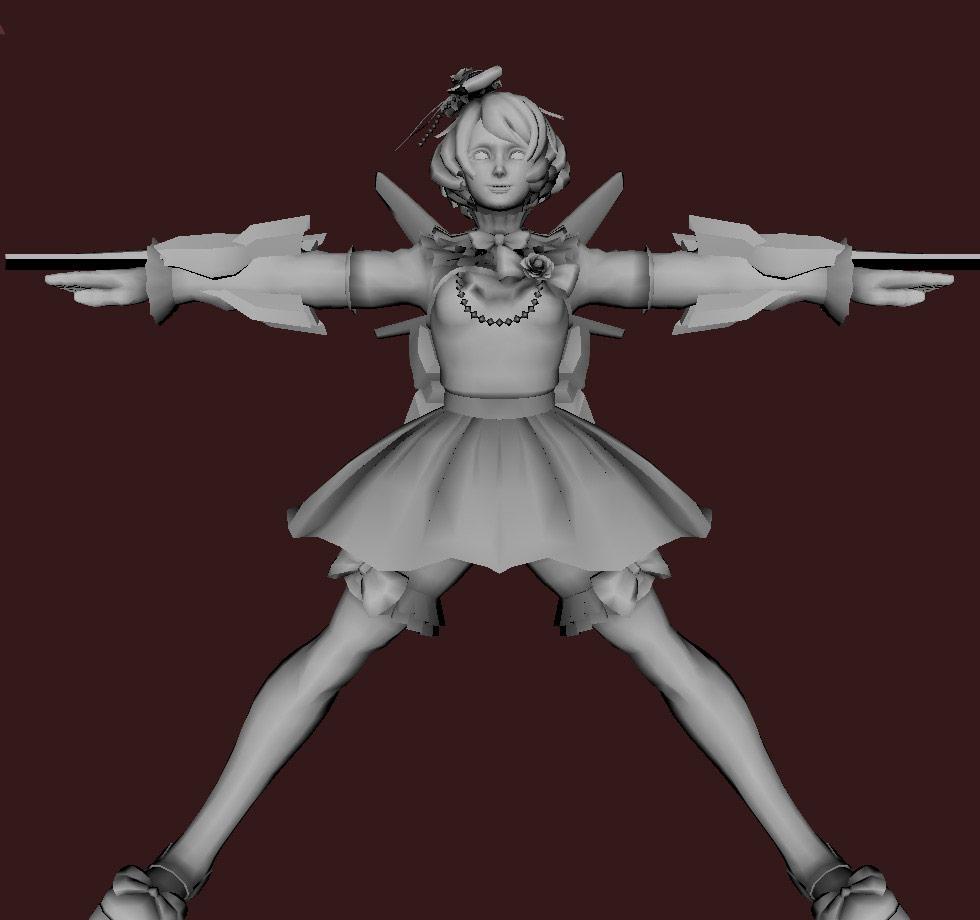 Models of Street Fighter X Tekken characters #06