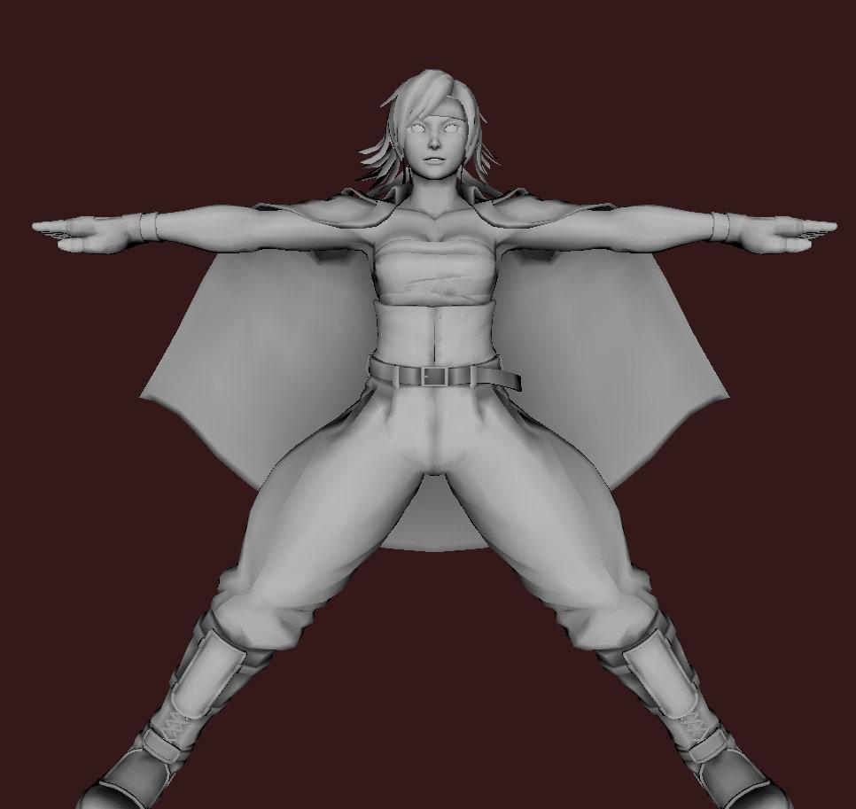 Models of Street Fighter X Tekken characters #08