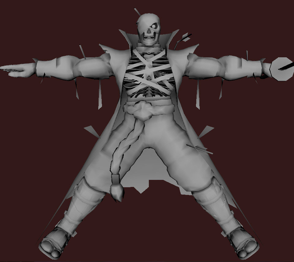 Models of Street Fighter X Tekken characters #102