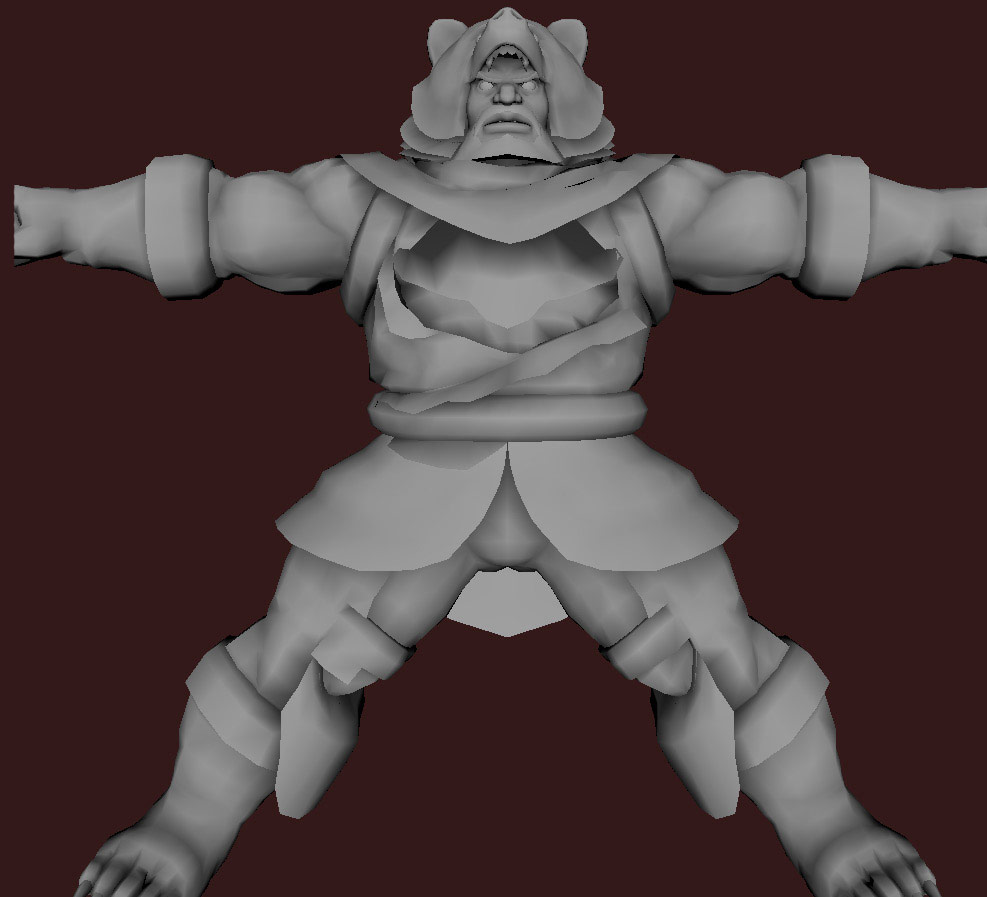 Models of Street Fighter X Tekken characters #103