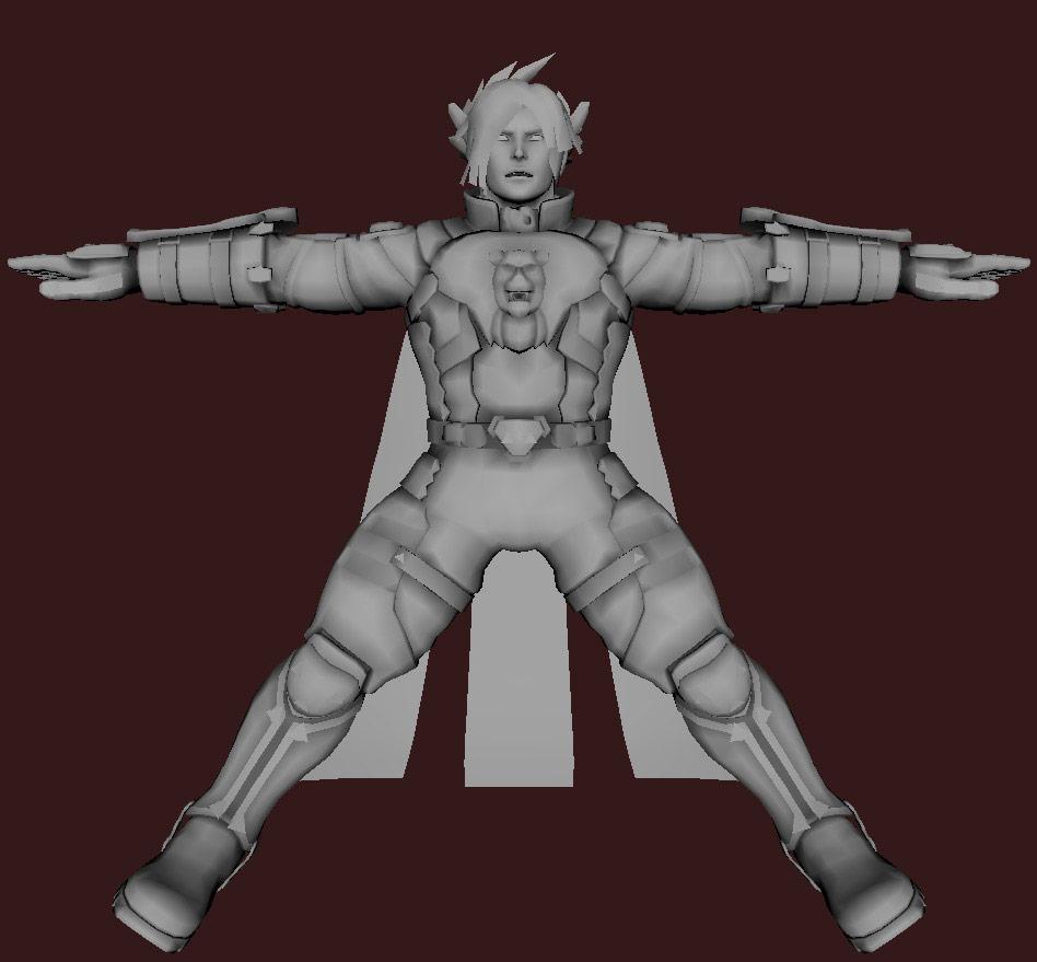 Models of Street Fighter X Tekken characters #105