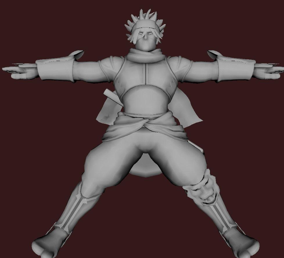 Models of Street Fighter X Tekken characters #106