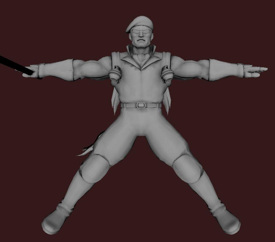 Models of Street Fighter X Tekken characters #107