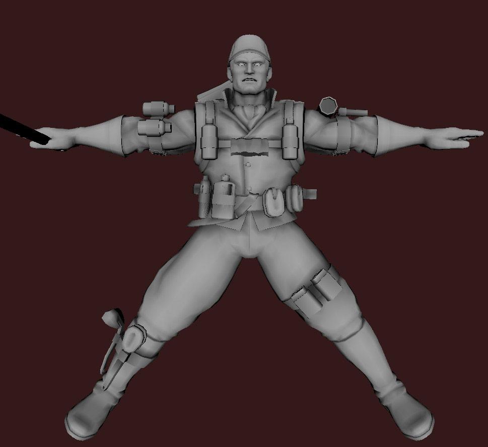 Models of Street Fighter X Tekken characters #108