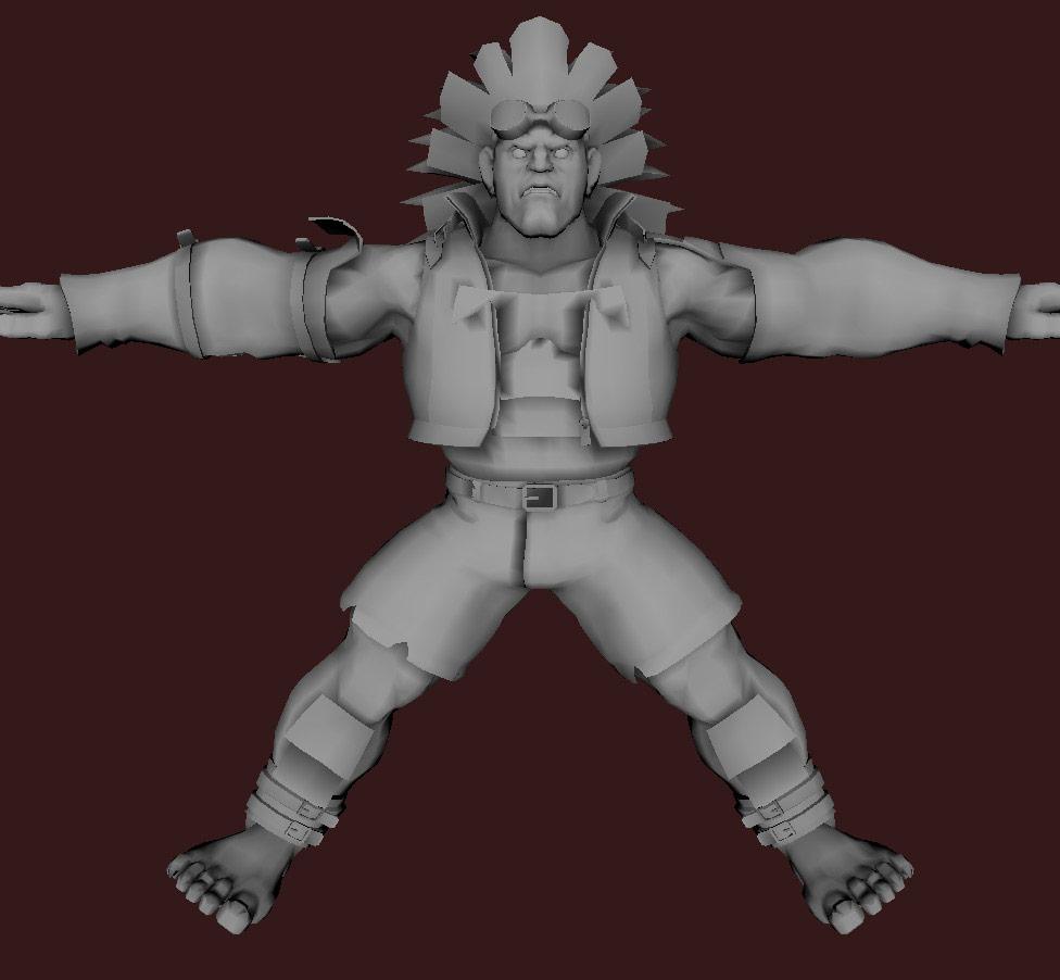 Models of Street Fighter X Tekken characters #11