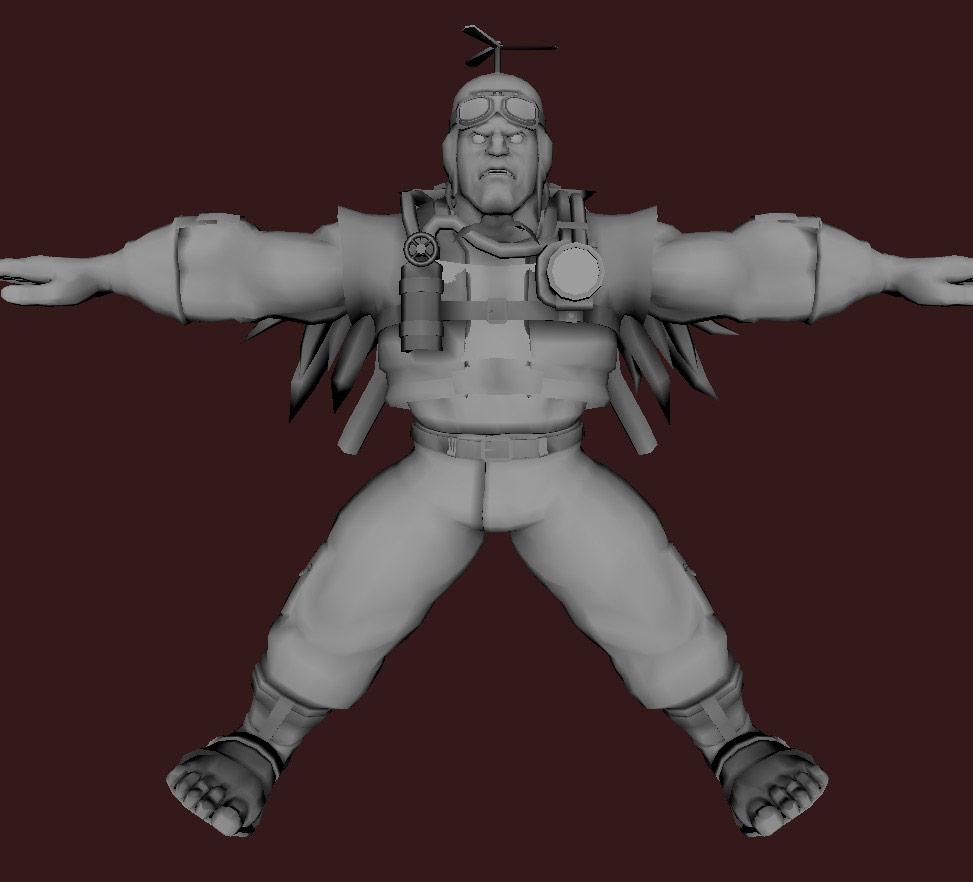 Models of Street Fighter X Tekken characters #12