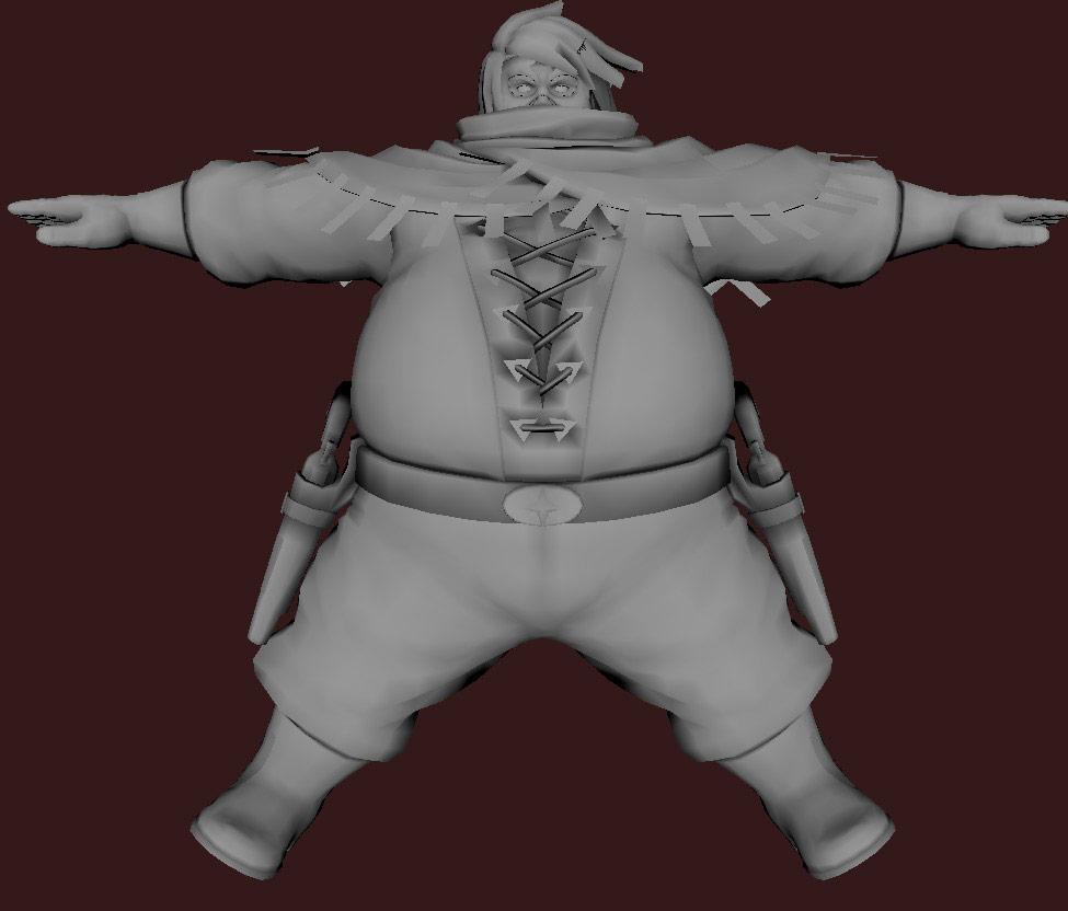 Models of Street Fighter X Tekken characters #14