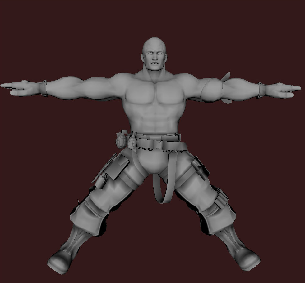 Models of Street Fighter X Tekken characters #15