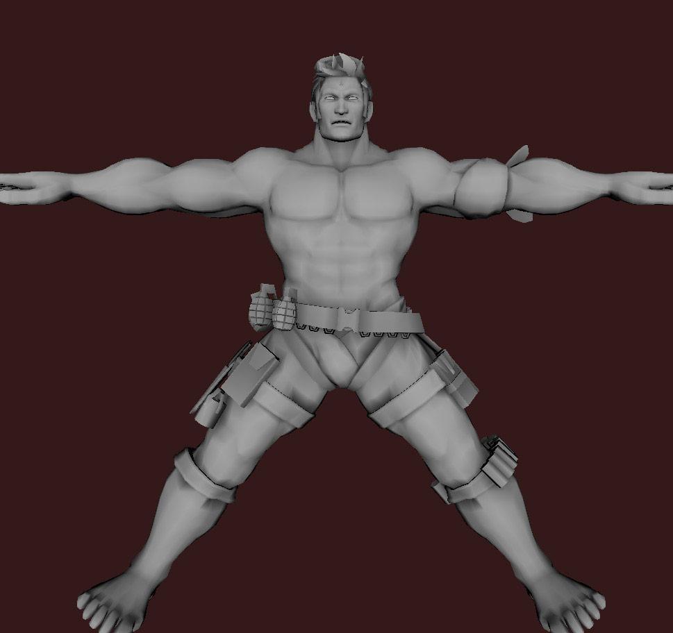 Models of Street Fighter X Tekken characters #16