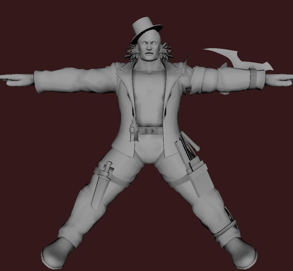 Models of Street Fighter X Tekken characters #17