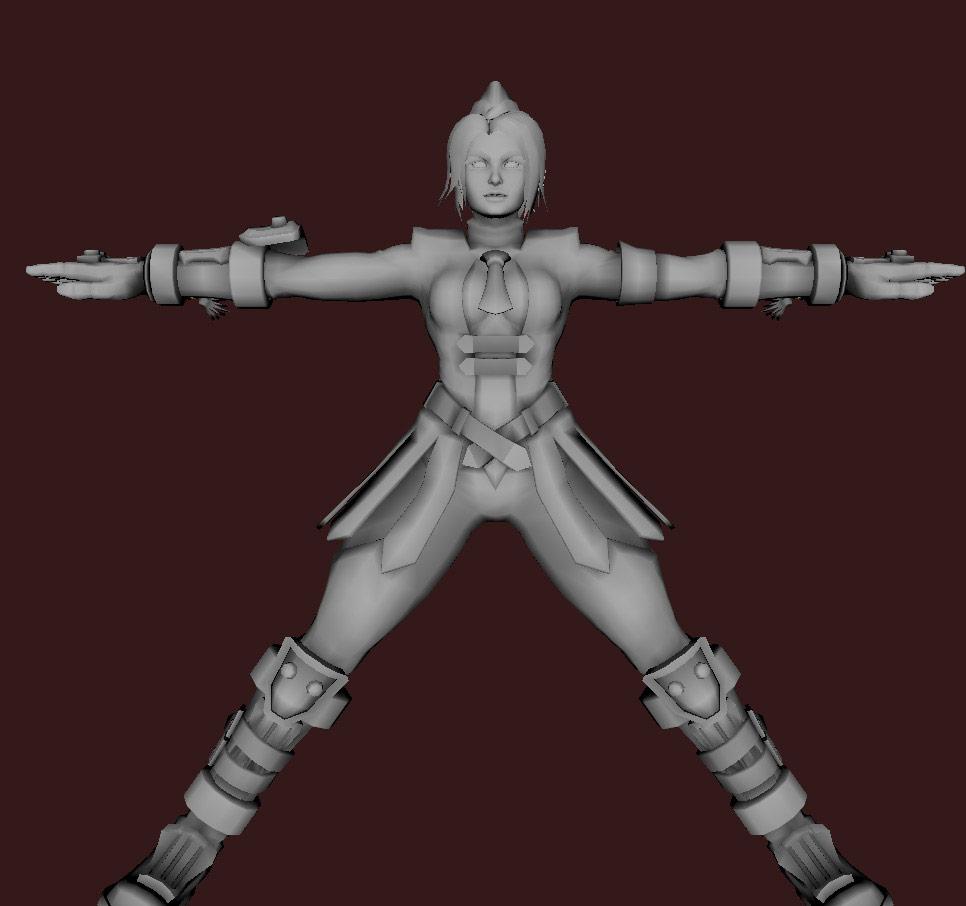 Models of Street Fighter X Tekken characters #19