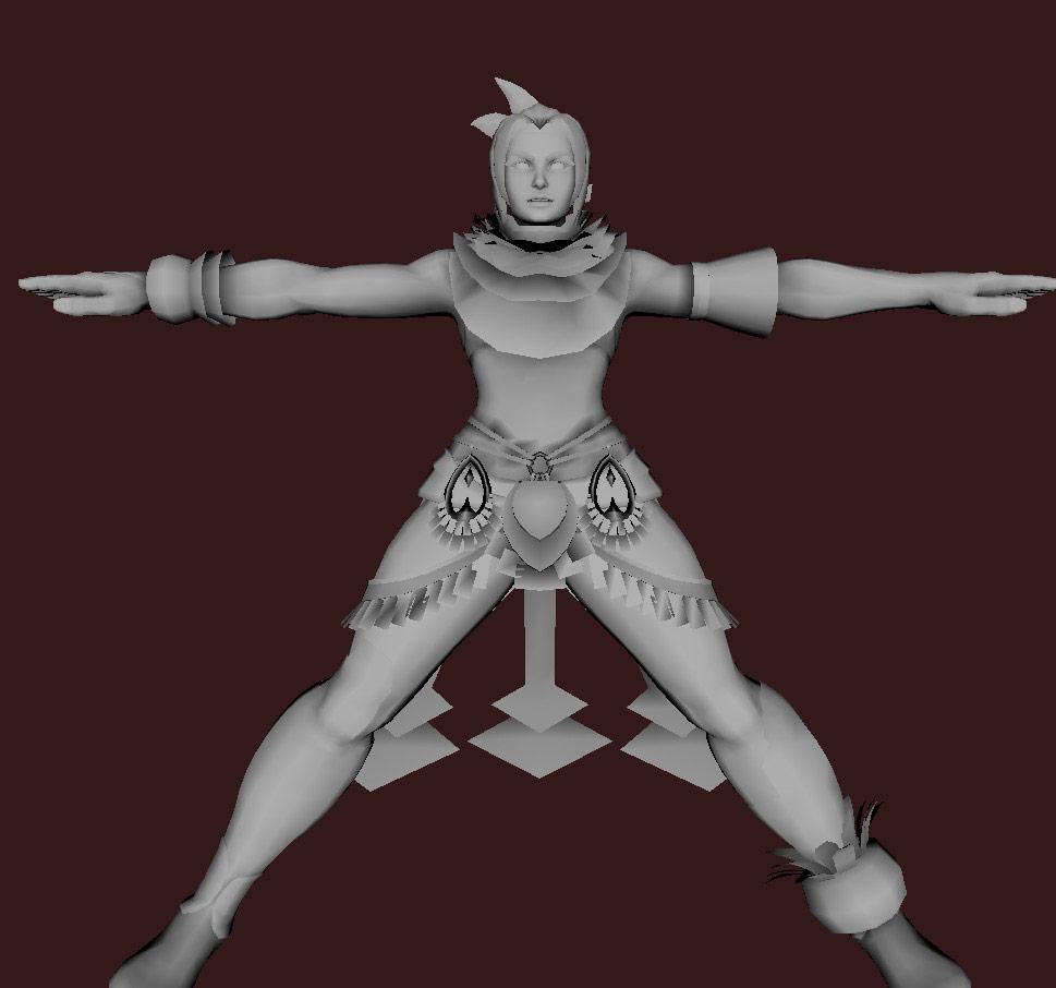 Models of Street Fighter X Tekken characters #20