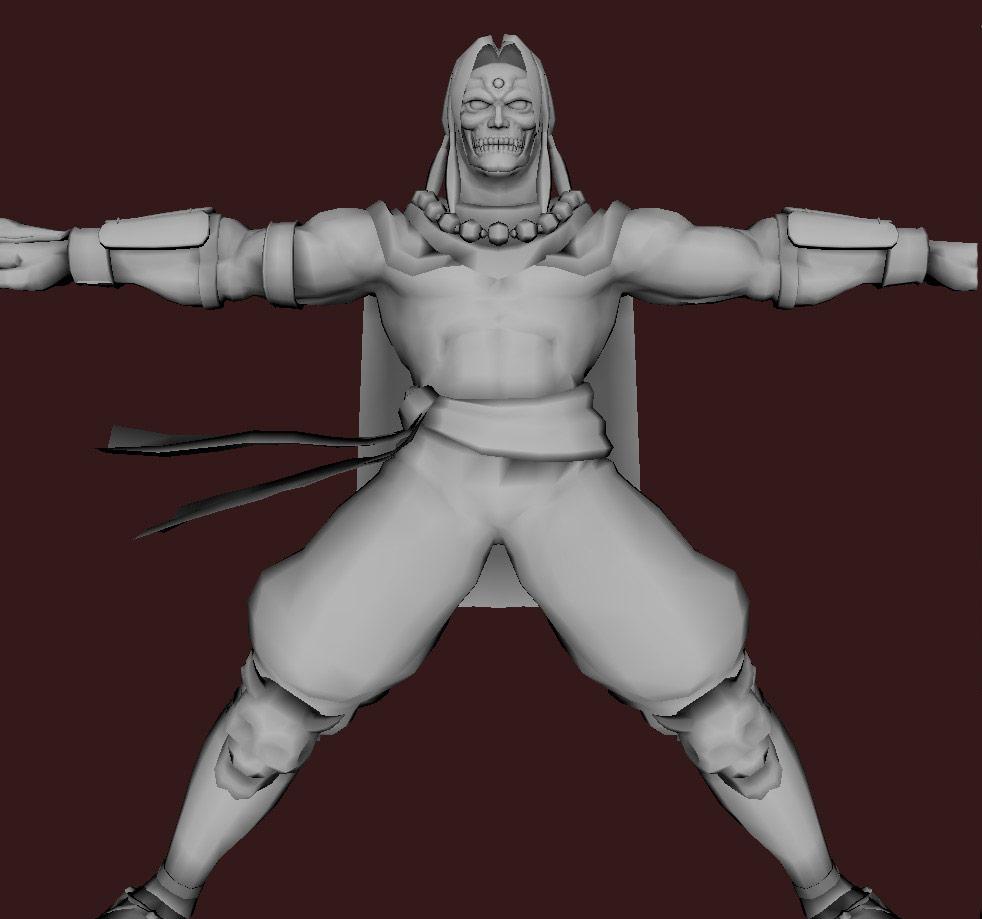 Models of Street Fighter X Tekken characters #23