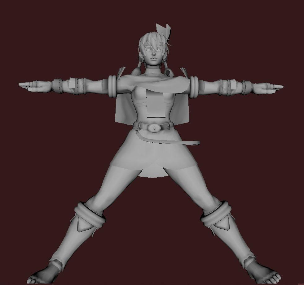 Models of Street Fighter X Tekken characters #25