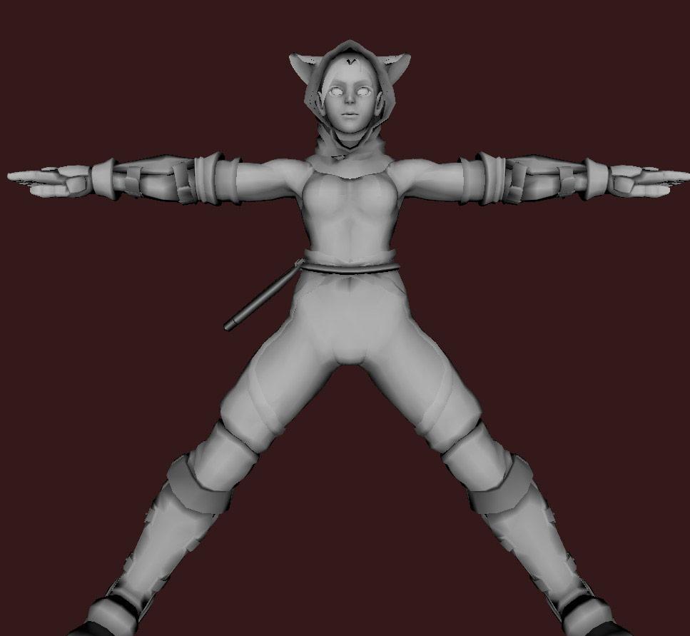 Models of Street Fighter X Tekken characters #26