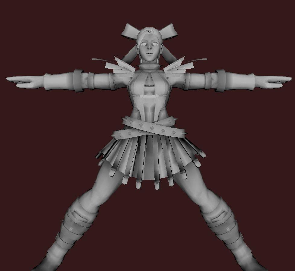 Models of Street Fighter X Tekken characters #27