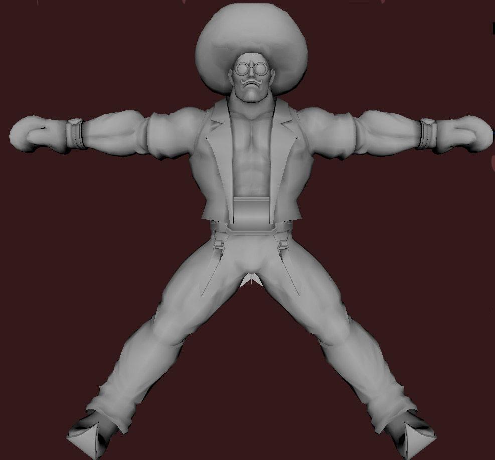 Models of Street Fighter X Tekken characters #30