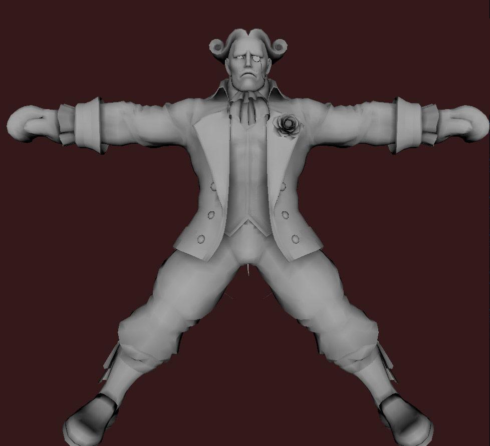 Models of Street Fighter X Tekken characters #31