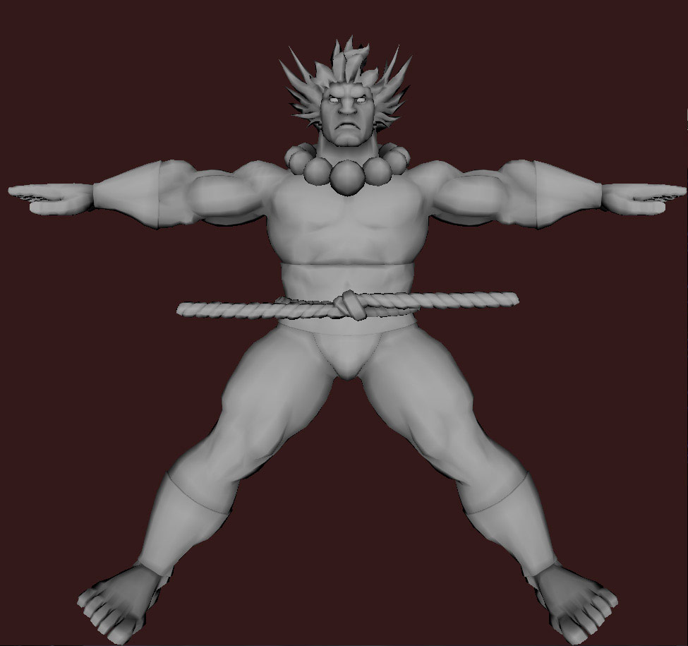 Models of Street Fighter X Tekken characters #32