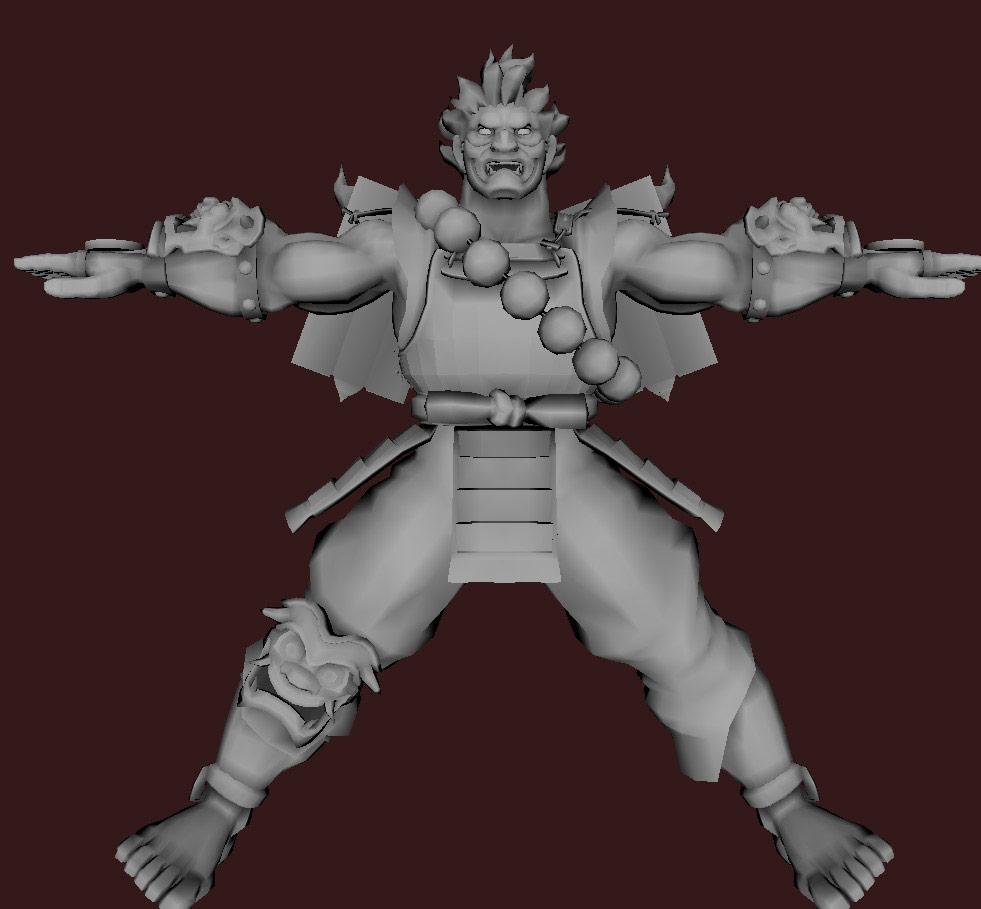 Models of Street Fighter X Tekken characters #33