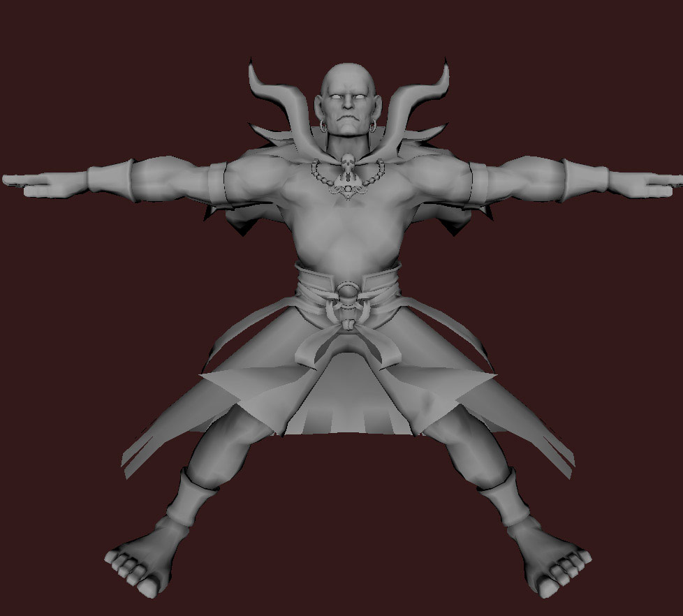 Models of Street Fighter X Tekken characters #34