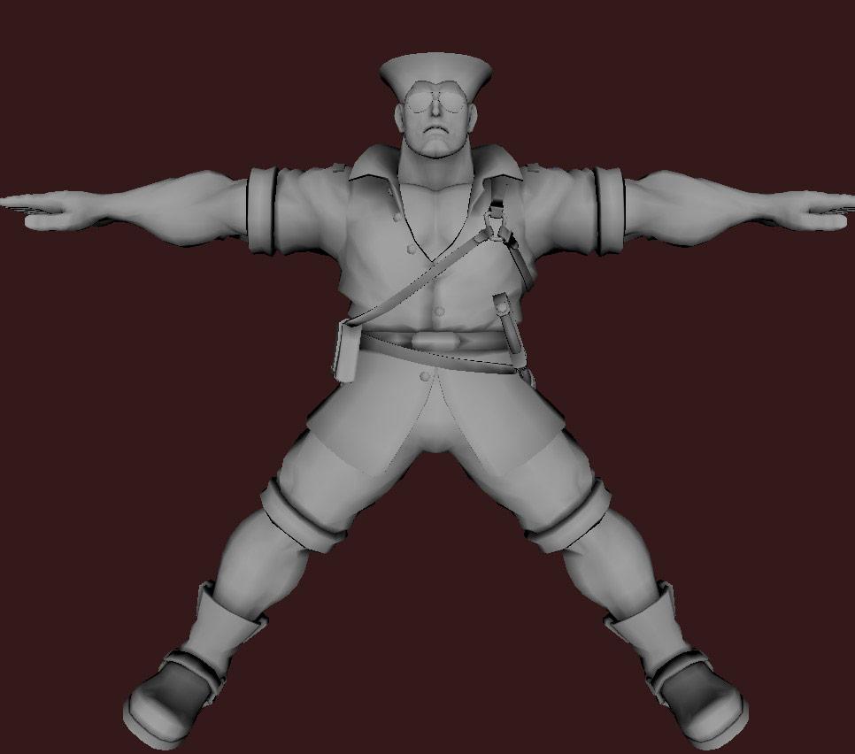 Models of Street Fighter X Tekken characters #38