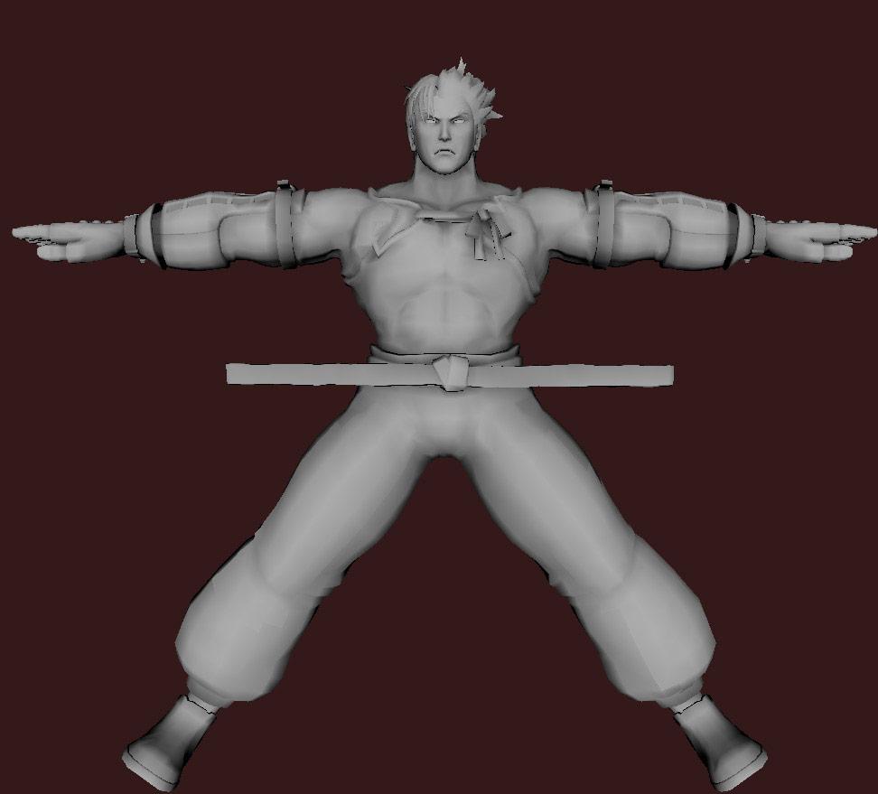 Models of Street Fighter X Tekken characters #39
