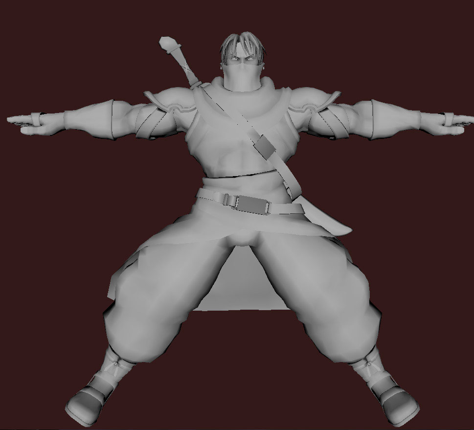 Models of Street Fighter X Tekken characters #40