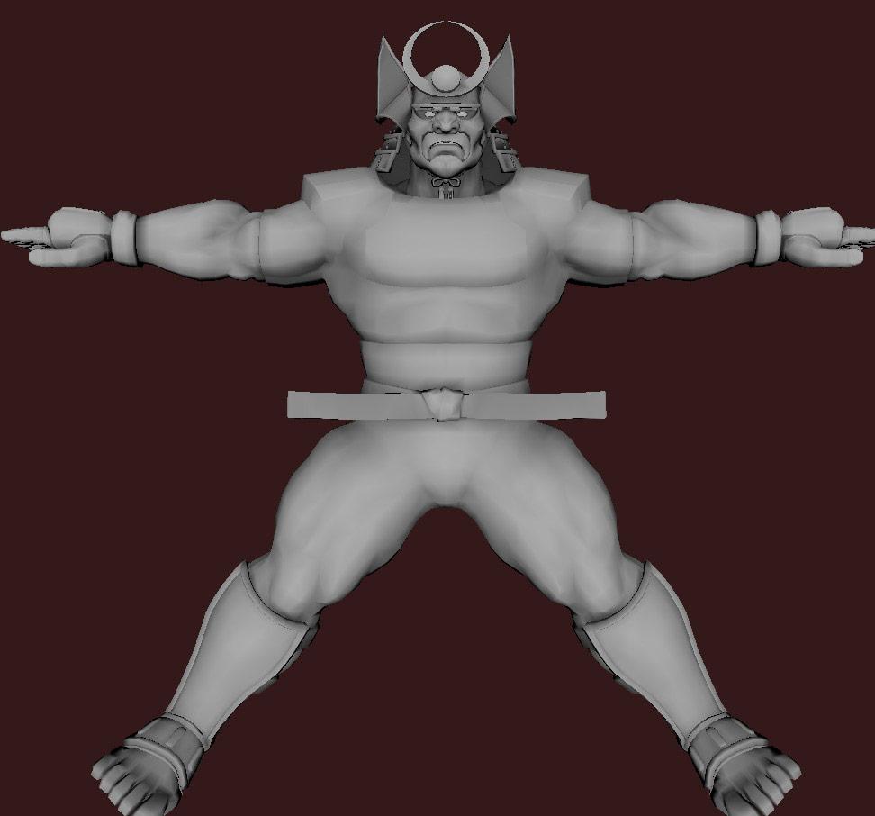 Models of Street Fighter X Tekken characters #41