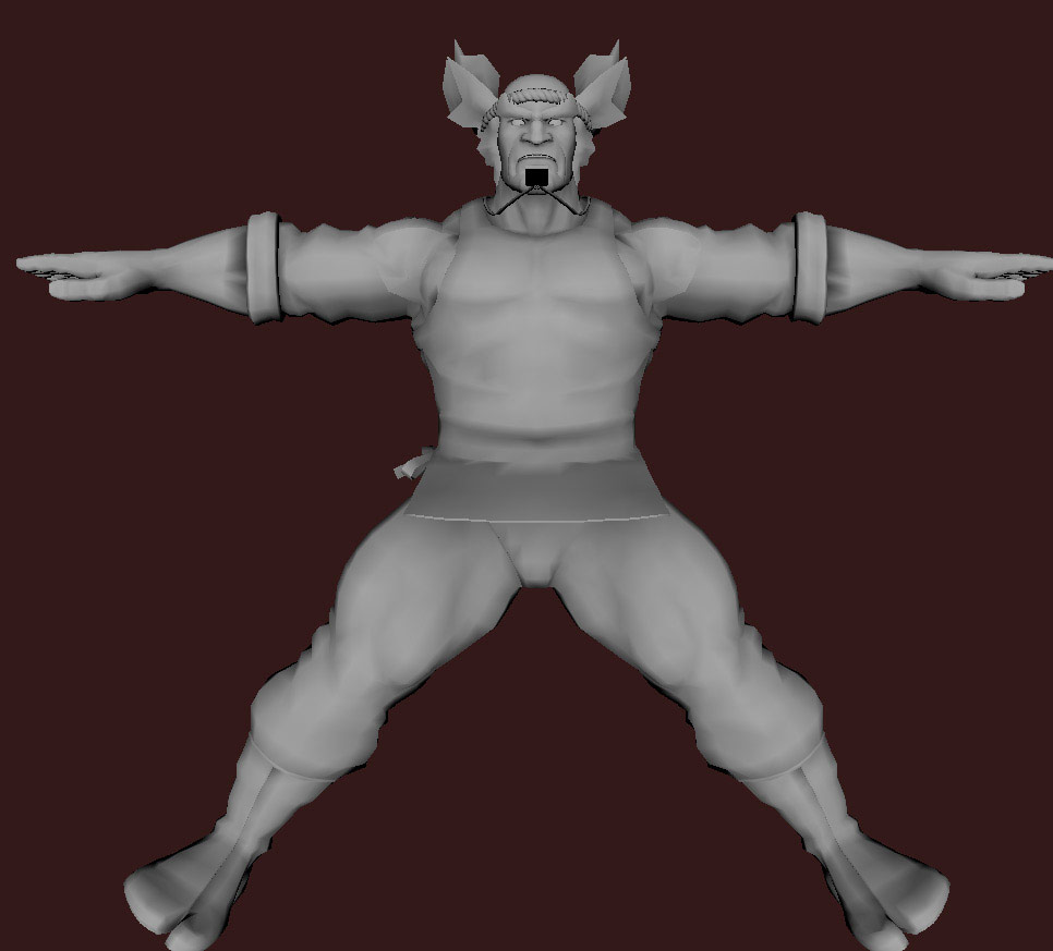 Models of Street Fighter X Tekken characters #42