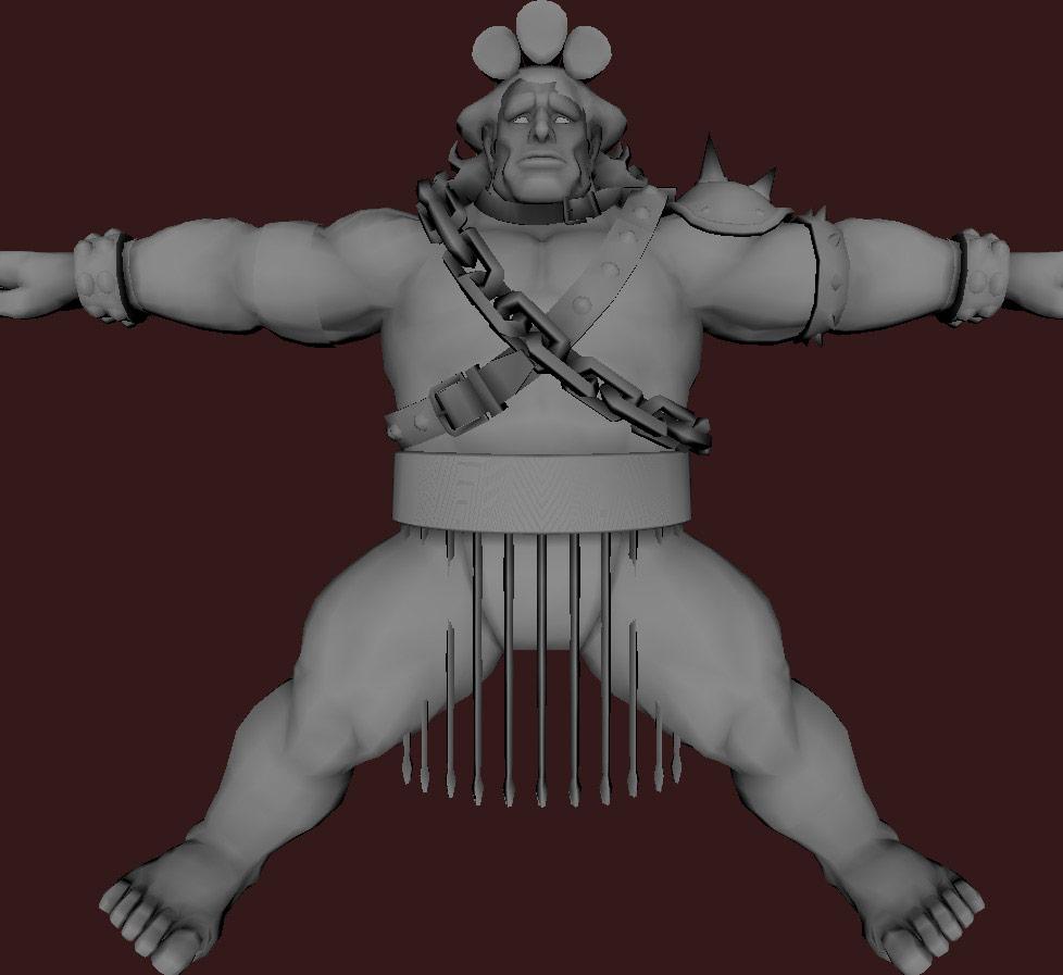 Models of Street Fighter X Tekken characters #43