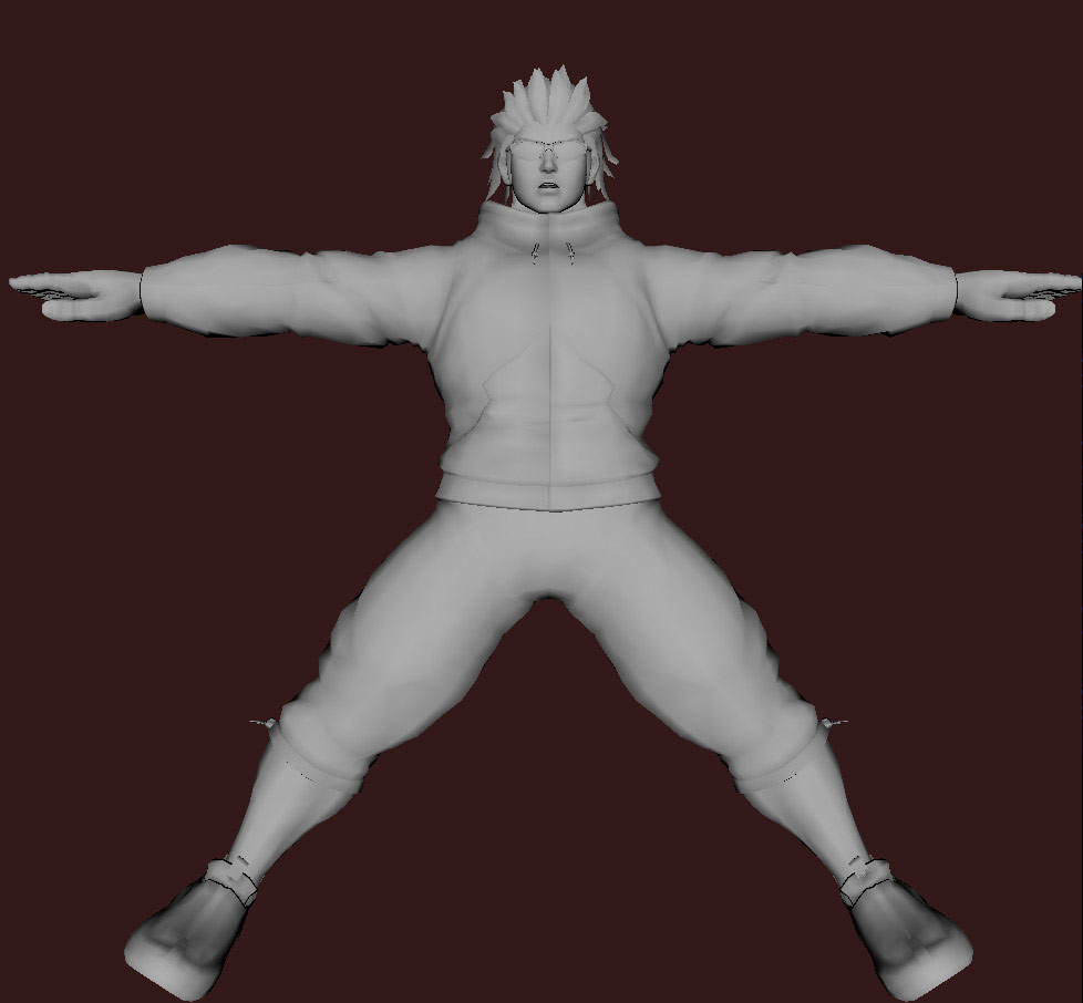 Models of Street Fighter X Tekken characters #46