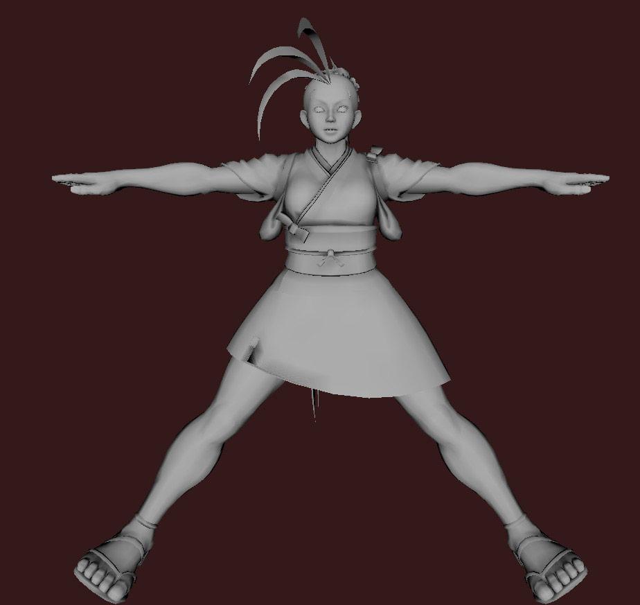 Models of Street Fighter X Tekken characters #48