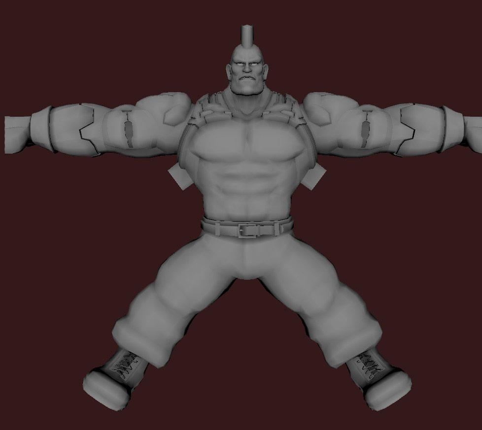 Models of Street Fighter X Tekken characters #49