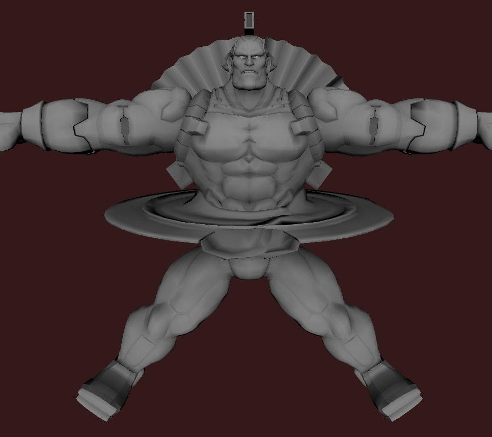 Models of Street Fighter X Tekken characters #50