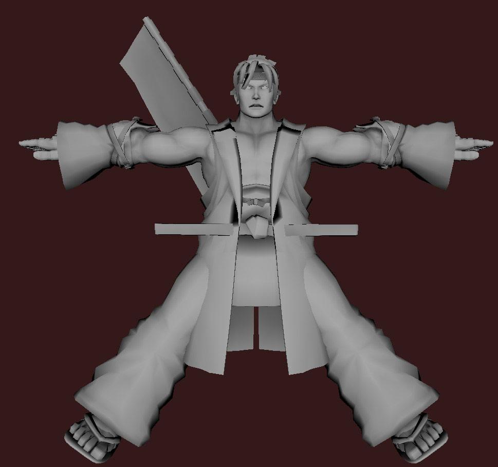 Models of Street Fighter X Tekken characters #53