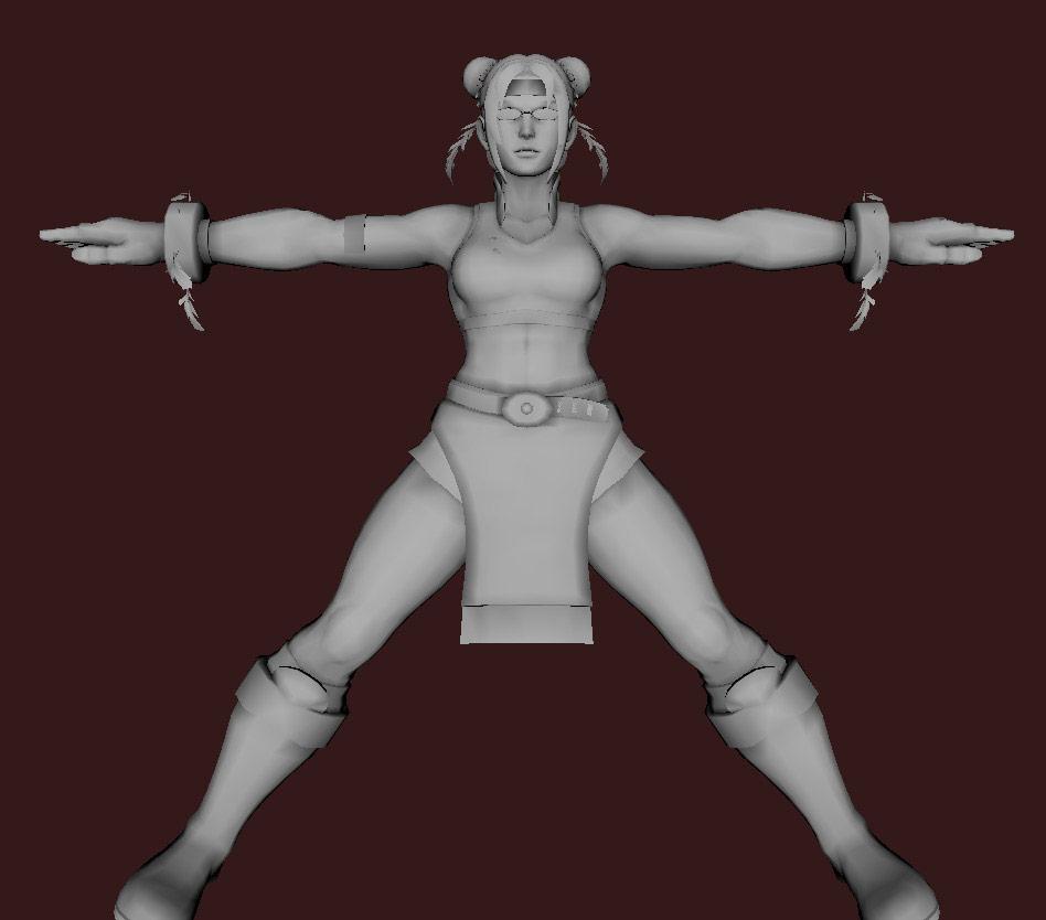 Models of Street Fighter X Tekken characters #54