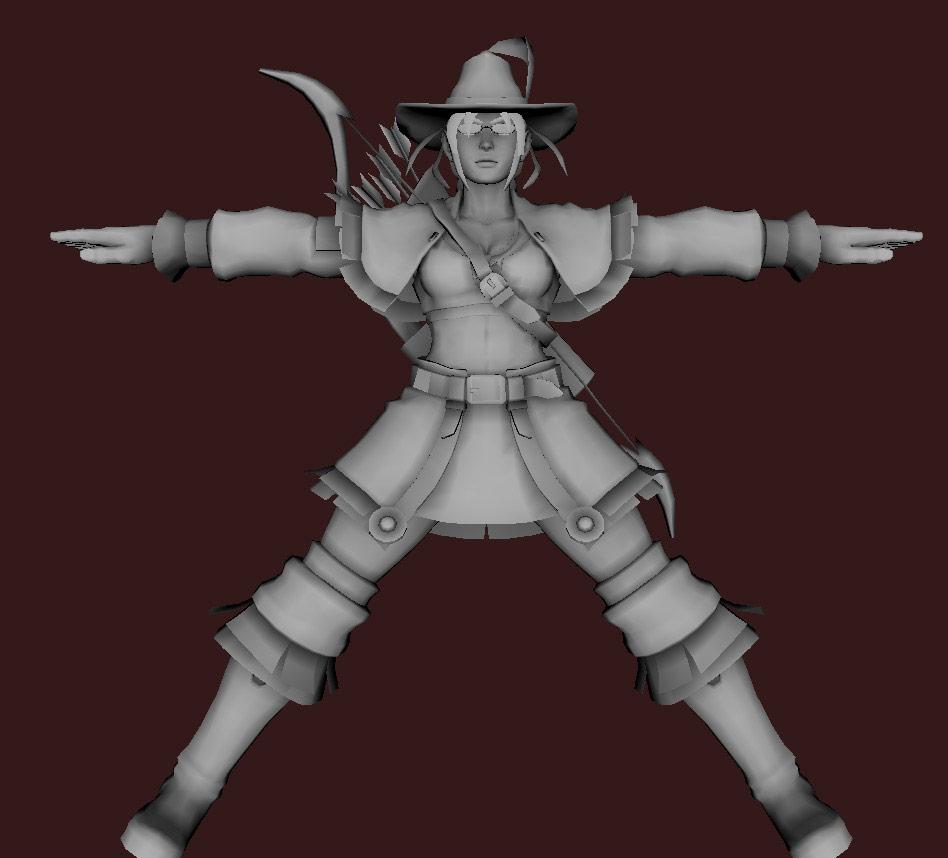 Models of Street Fighter X Tekken characters #55