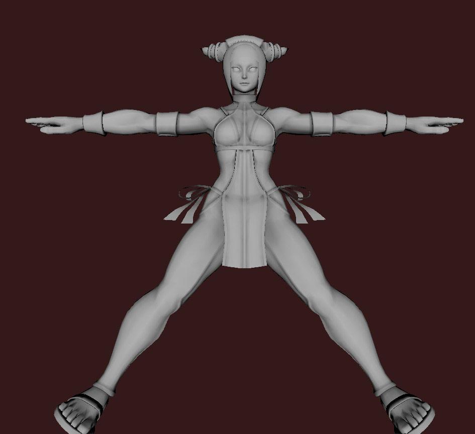 Models of Street Fighter X Tekken characters #57