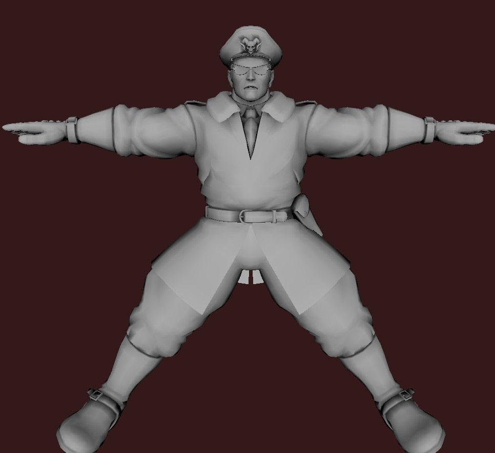 Models of Street Fighter X Tekken characters #58