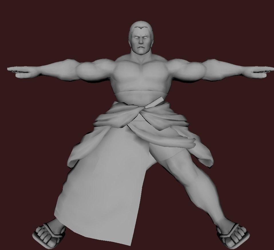 Models of Street Fighter X Tekken characters #59