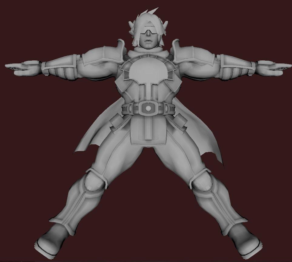 Models of Street Fighter X Tekken characters #60