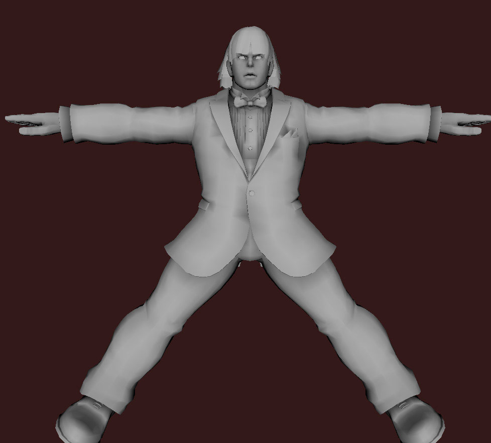 Models of Street Fighter X Tekken characters #61